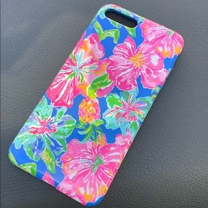 Lilly Pulitzer iPhone 7 or 8 plus phone case